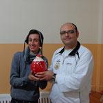 Il vincitore Salvuccio Mandanici