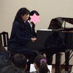 中学生とのピアノ連弾 カッコイイと好評でした。 市川市ノア音楽教室