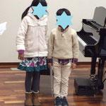 ごきょうだいでピアノ連弾 市川市ノア音楽教室