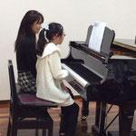 お母さまとのピアノ連弾 市川市ノア音楽教室