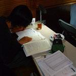 少人数制特訓授業で皆10時間勉強しました。