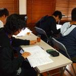 センター試験対策講座の様子です。
