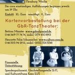 FrauenTanzTheater Flyer Rückseite