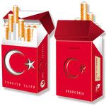Türkischer Überzieher für Zigaretten > indo slipp 011 > Türkei Flagge