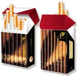 Zigarettenschachtelhülle im Zigarrenlook > indo slipp 015 > Zigarren