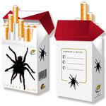 Spiderbox für Zigarettenschachteln > indo slipp 031 > Spinne