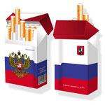 Slipp für Zigarettenschachteln > indo slipp 043 > Russland