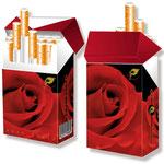 Wunderschönes Zigaretten-Cover > indo slipp 033 > Rose