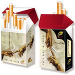 Zigarettenschachtel Etui > indo slipp 013 > Michelangelo