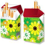 Cover für Zigarettenpackungen > indo slipp 029 > Prilblumen