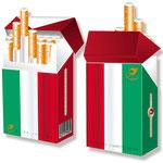 Tricolore Italia > indo slipp 039 > Italien Flagge