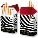 Trendiges Cover für Zigarettenpackerl > indo slipp 034 > Zebra
