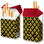 Edles Zigarettenschachtel-Etui > indo slipp 032 > Royal / Bourbonische Lilie