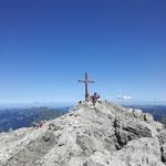 Am Gipfel der Mohnenfluh