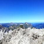 Panorama vom Gipfel der Mohnenfluh