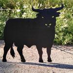 Hier der Kleine Stier einmal in 120cm Höhe und 1,30m Länge. Preis siehe große Stiere: