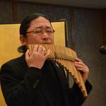 パンフルート奏者 今井勉 氏