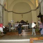 Visite de l'église de La Selve