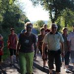 Marche à pied pour les soirées à la ferme en chambre d'hôtes