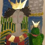 Vater und Frosch