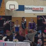 Podium Finale Agrès B Saut: 2ème Lisa Maurin Jeanne d'Arc de Dax