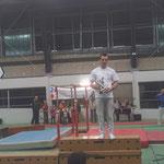 Trophée José Gaulin, Meilleur gymnaste Adulte aux Anneaux: Nicolas Belleau Ecureuils de Soustons