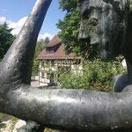 Karl Ulrich Nuss: Jüngling mit Stab