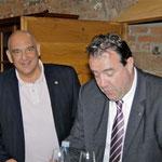 Lionsfreunde Richard Müllejans und Udo Gentgen (v.l.)
