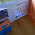 Volksbank Sauerland Einladungskarte