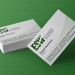 Ennepetaler Sensenwerk: Logoentwicklung, Briefbogen/Visitenkarte