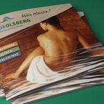 Aktiv relaxen – Aqua Oldsberg, die Sauerlandtherme, Imagebroschüre