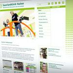 Sauerlandklinik Hachen – Redesign der Webseite