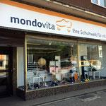 Mondovita: Aussenwerbung, Geschäft in Dortmund