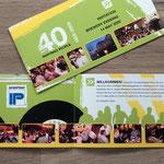 Interprint Einladungskarte