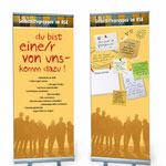AKIS- Selbsthilfegruppe: Roll-up-Display