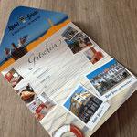 Geschenkgutschein vom Hotel Friese, Norderney