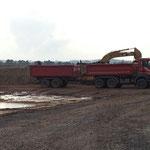 Landesgrenze: rege Bautätigkeit am Samstag Nachmittag