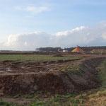 Landesgrenze Hessen: Hier fängt der Nachbar bereits mit großflächigen Auffüllungen oder Ablagerungen an.