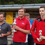 Stolzer Sieger bei den Herren - Christian Gaisbacher