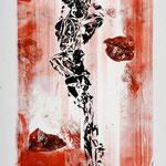 oil on cardboard, 80x60 cm