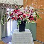 ¥15000(器込)  171×126x42 講義演台花