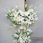 ¥15000 147x195x43 供花スタンド花