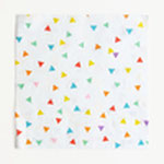 Serviettes Triangles multicolores MyLittleDay - 20 unités - 4,5€ TTC