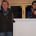 Gratulation an die neue Beisitzerin Manuela Zornig