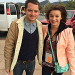 Rhiann and Elijah Wood