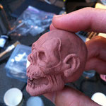 The finished sculpt 2.