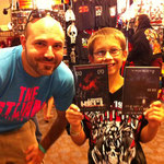 I'm hoping Alex becomes our newest #1 fan!  This kid was awesome.  He picked up the movies, took a picture with the body cube, and looks to be a Scotchworthy fan for life!