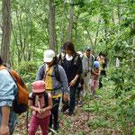 秋葉山「語らいの小径」散策