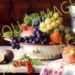 composition nature morte coupe de fruits, étude éclairage de studio