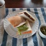 秘密のサンドイッチ 人参マヨネーズ、チョコバナナ、サブウエイ風の3種類